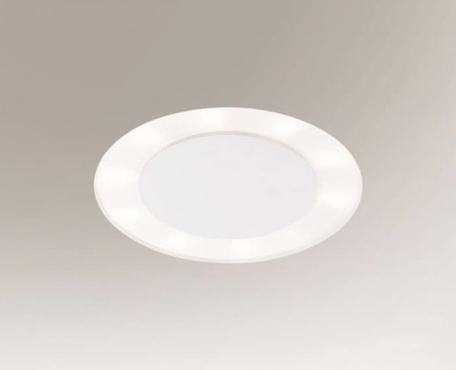 Round recessed lamp BANDO 3321-B Shilo 10xE27 9W eye White