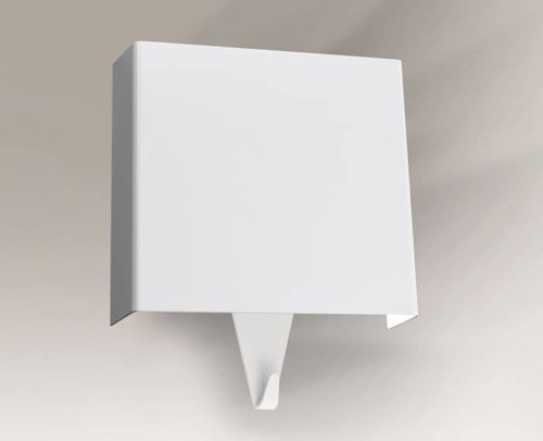 Wall lamp with a hook SHILO Kakuda 4484