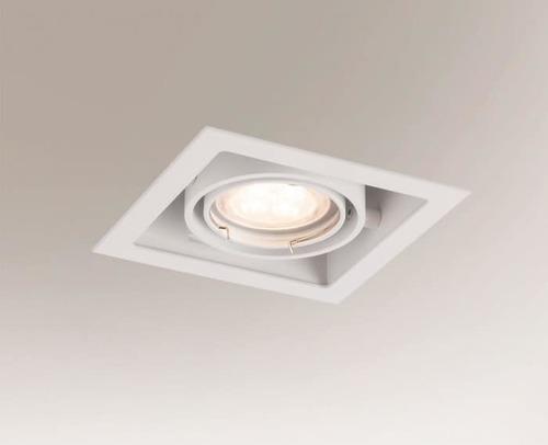 Halogen recessed lamp EBINO 3304 Shilo GU10 1xPAR16 50W