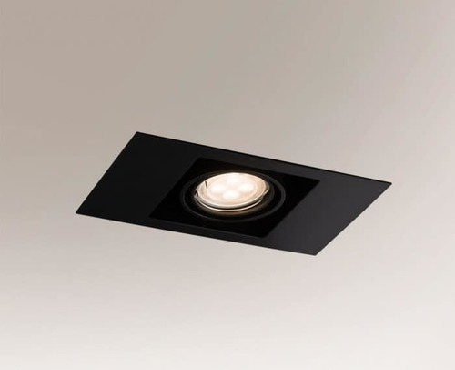 EBINO 3305 Shilo GU5.3 1xMR16 50W ceiling spotlight rectangular