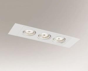 Ceiling recessed lamp EBINO H 3348 Shilo GU10 3xPAR16 50W small 0