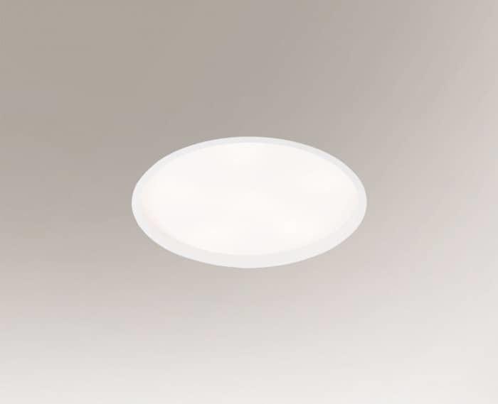 Recessed luminaire HOFU 3317 Shilo 2G11 3xTC-L recessed luminaire 2x18W + 1x24W