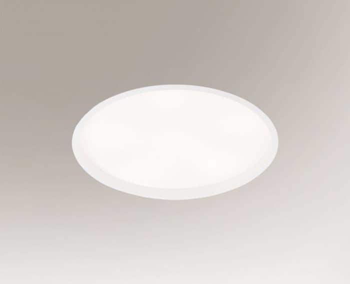 Recessed ceiling light e27 HOFU 3318-B Shilo 6x9W