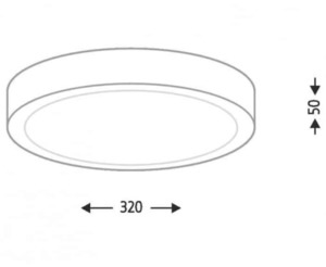Surface mounted ceiling lamp ~ 32 Shilo NOMI 1148-B small 1
