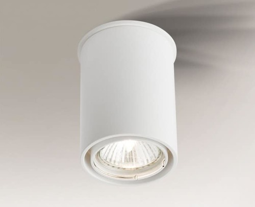 Single surface-mounted luminaire with adjustable eye OSAKA 1119