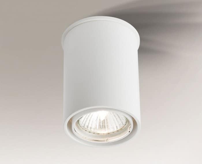 Single surface-mounted luminaire with adjustable eye OSAKA 1119