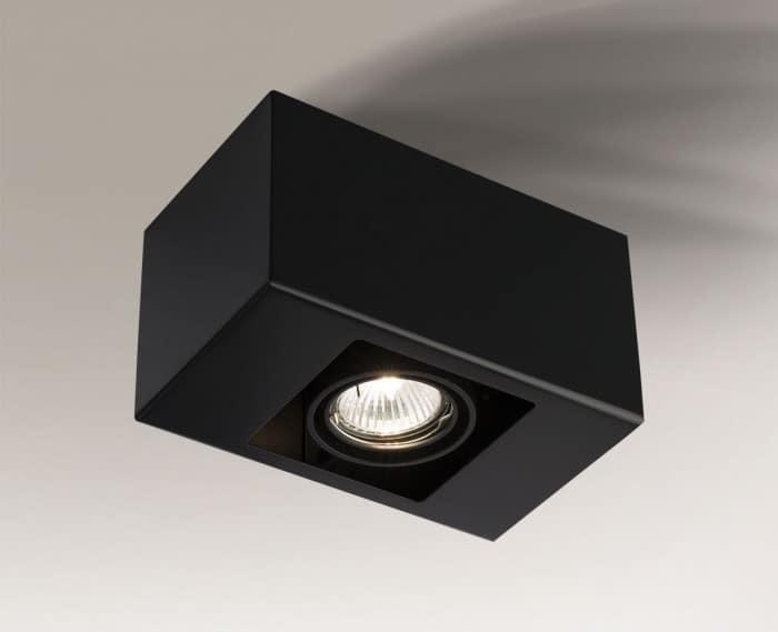 Surface mounted single rectangular Shilo SETO 1136