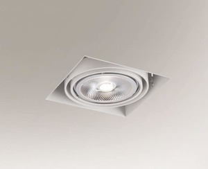 Recessed ceiling light KOMORO 3308 G53 50W small 0