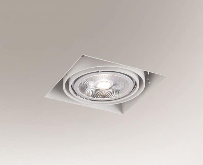 Recessed ceiling light KOMORO 3308 G53 50W