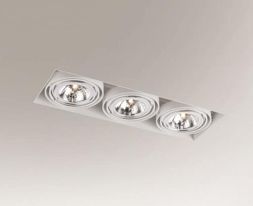 Downlight lighting KOMORO 3310 Shilo G53 3x50W