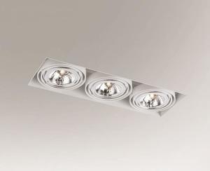 Downlight lighting KOMORO 3310 Shilo G53 3x50W small 0