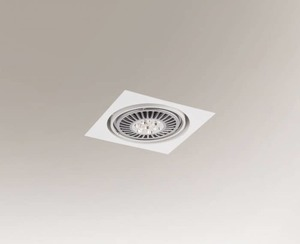 Recessed luminaire KOMORO H 3349 Shilo GU10 downlight 50W small 0