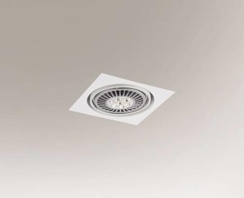 Recessed luminaire KOMORO H 3349 Shilo G53 50W downlight