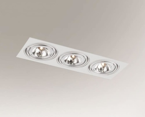 Recessed luminaire KOMORO H 3351 downlight 50W G53