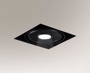 LED KOMORO recessed luminaire 1x 33W 1x10W 850lm small 0