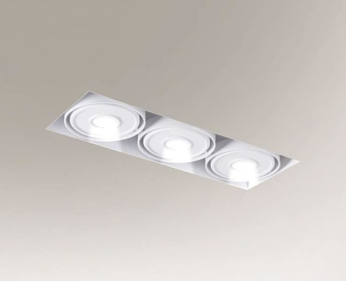 Recessed LED light KOMORO IL 3354 3x10W 2550lm