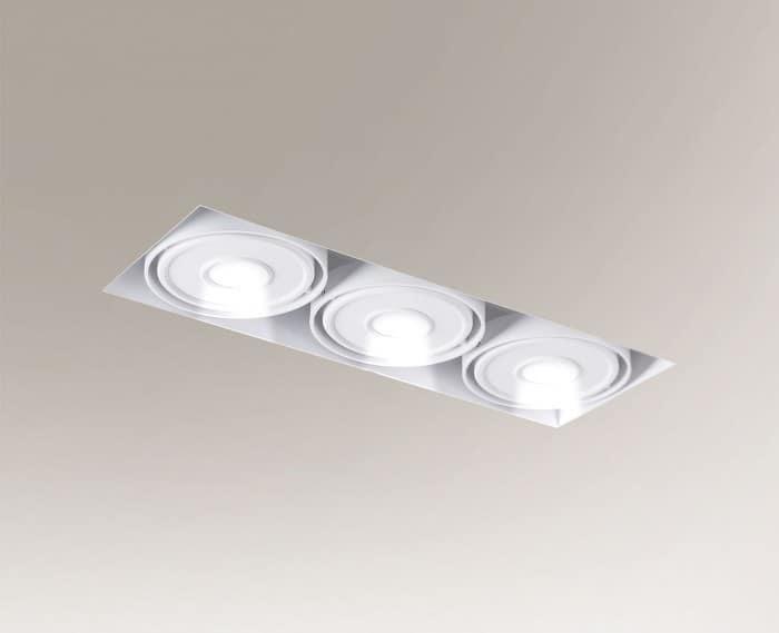 Recessed LED light KOMORO IL 3354 3x10W 2550lm