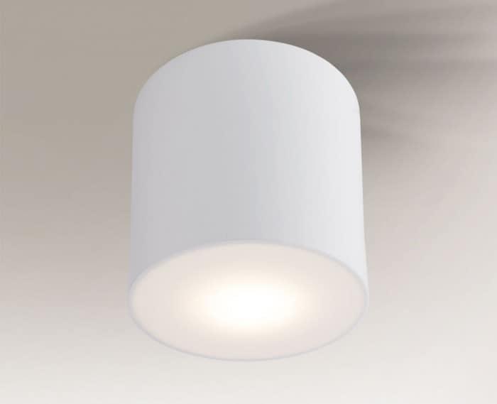 Surface mounted round Shilo Zama 1129 GX53