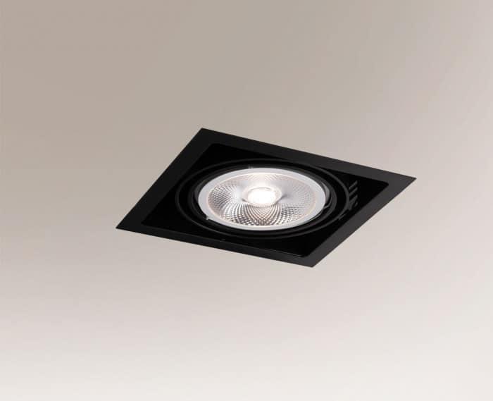 Recessed luminaire MUKO 3311 GU10 50W IP20