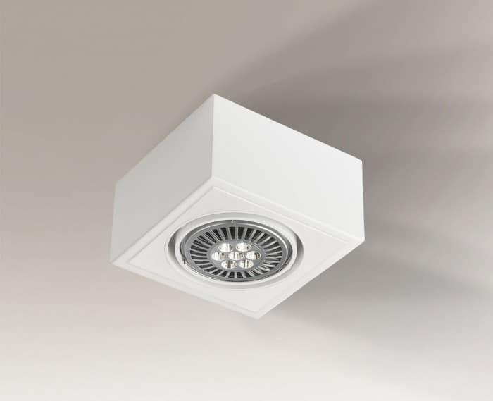 Single adjustable surface-mounted luminaire Shilo UTO H 1217-GU10