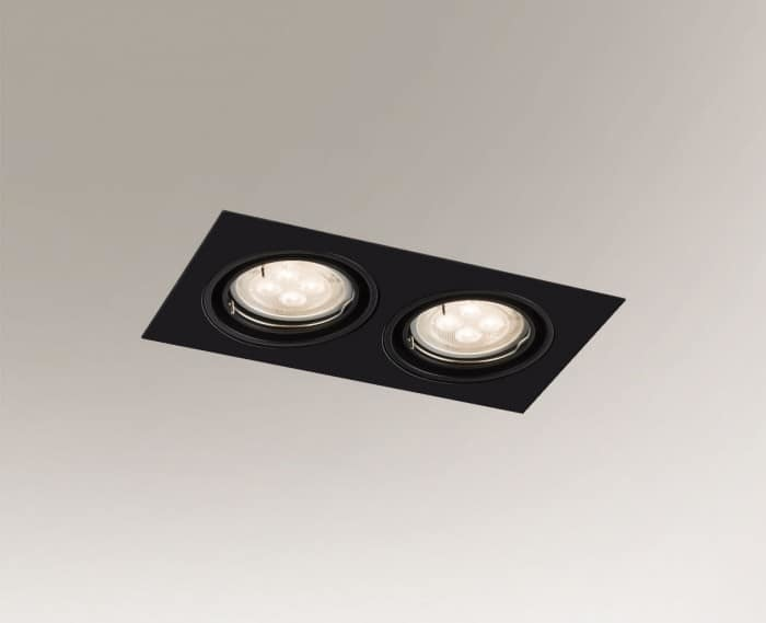 2-point lighting fitting OMURA H 3343 GU10 50W