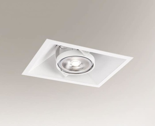 Recessed luminaire SANO 3333 G53 50W mesh