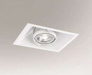 Recessed luminaire SANO 3333 G53 50W mesh small 0