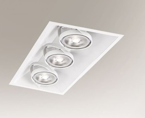 Recessed luminaire SANO 3372 G53 50W small 0