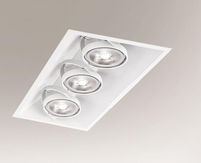 Recessed luminaire SANO 3372 G53 50W