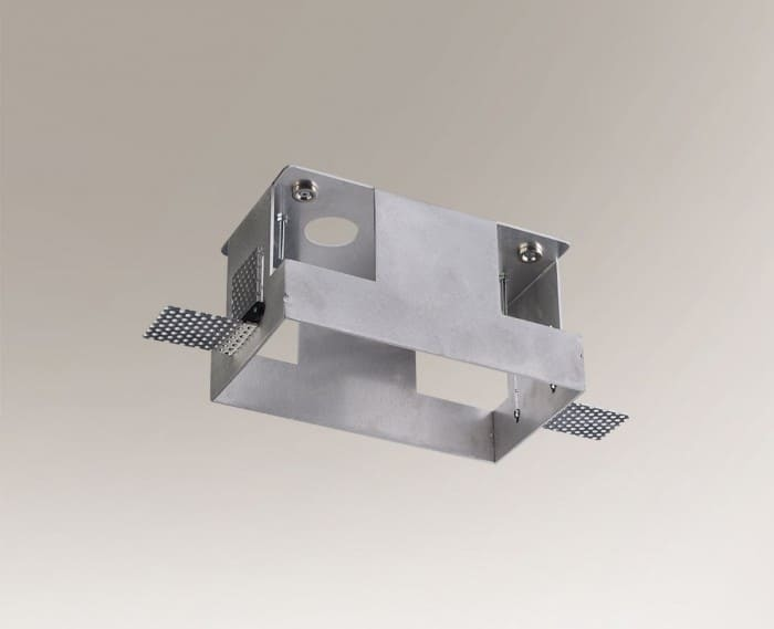 OMURA 3337 mounting box for aluminum two-point lamp