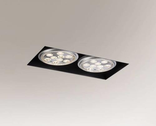 Downlight lamp YATOMI 3331-B GU10 15W, without mounting box