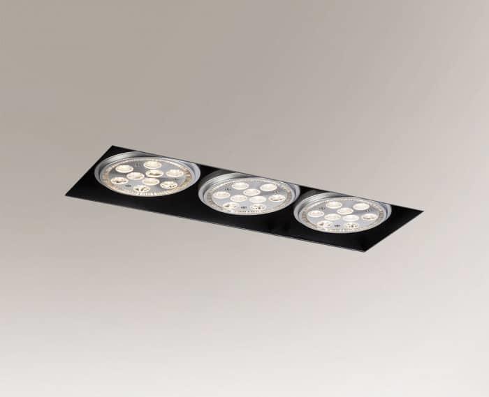 Recessed luminaire YATOMI 3332 GU10 15W