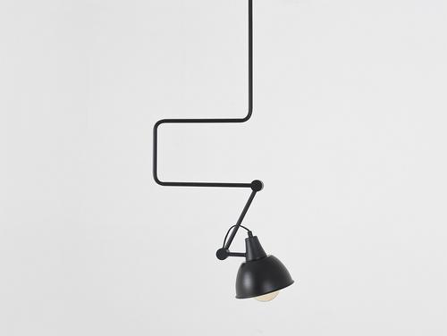 COBEN hanging lamp - black