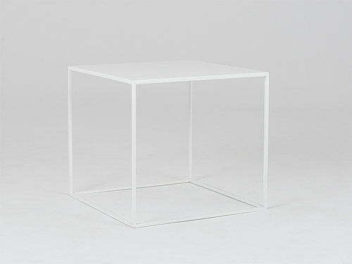 TENSIO METAL 50 coffee table - white