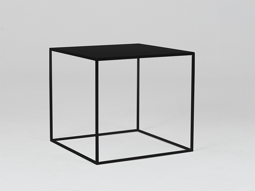 TENSIO METAL 50 coffee table - black