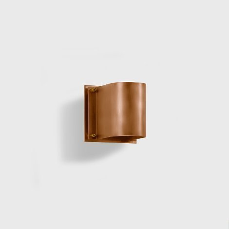 Copper wall sconce IP 64 BEGA 31206