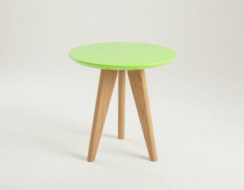 OSLO S table - green, ash
