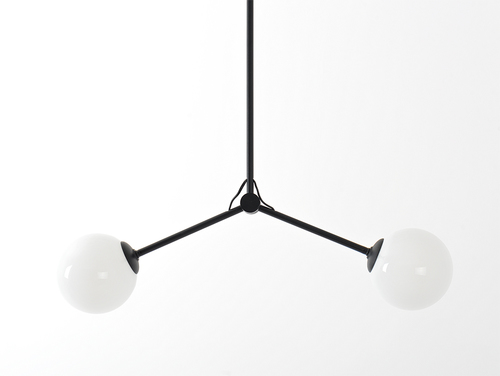 CATKIN TWINS hanging lamp - black