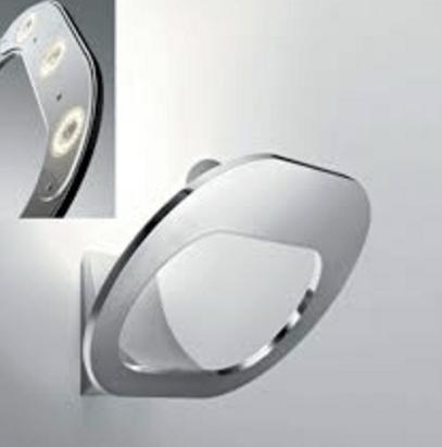 Wall lamp Fabbian DOMINA chrome