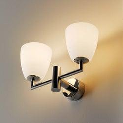 Wall lamp Fontana Arte V006BI VETRO White small 1