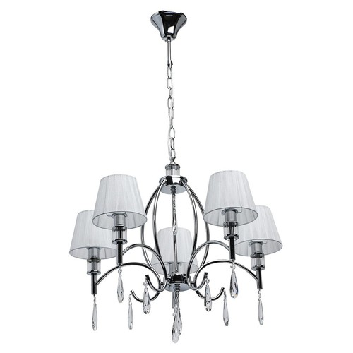 Hanging lamp Vega Elegance 5 Chrome - 329011705