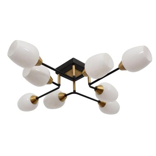 Pendant lamp Olympia Megapolis 8 Brass - 638019008