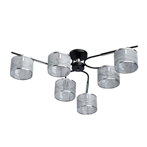 Hanging lamp Conrad Megapolis 6 Chrome - 667011806