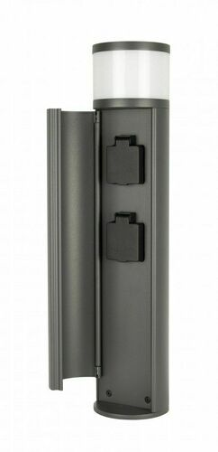 ELBORN EL3113 lighting pole with electrical sockets