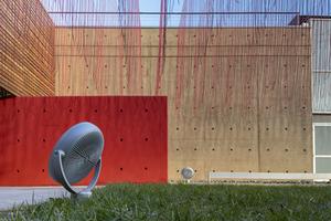 Large floodlight Platek SUN - LED 3000K Asymmetrical small 3