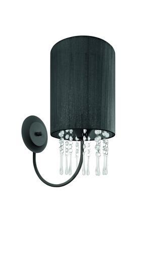 Classic Black Venice wall lamp