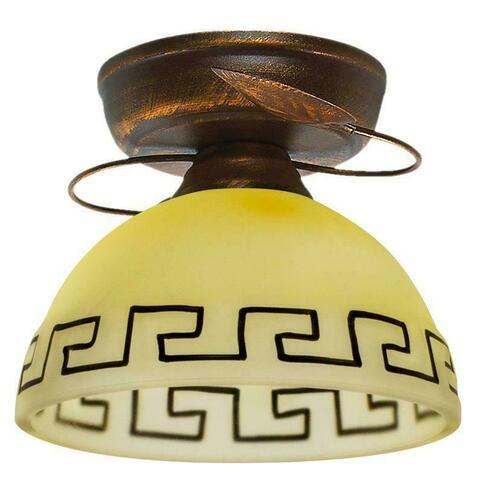 Retro Ceiling Lamp Bronze + Copper