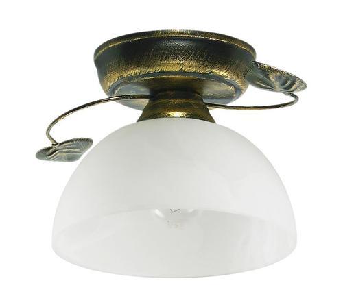 Classic Ceiling Lamp Black + Gold