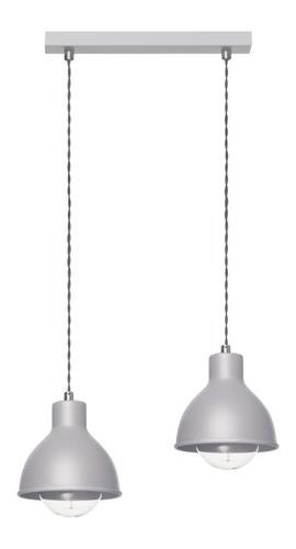 Design Hanging Lamp Zoe 2 L Gray