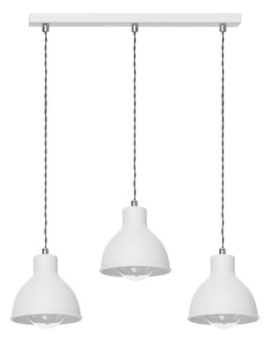 Modern Hanging Lamp Zoe 3 L White